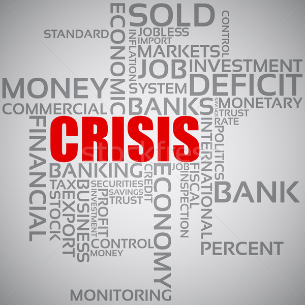 Stock photo: Financial Crisis Concept