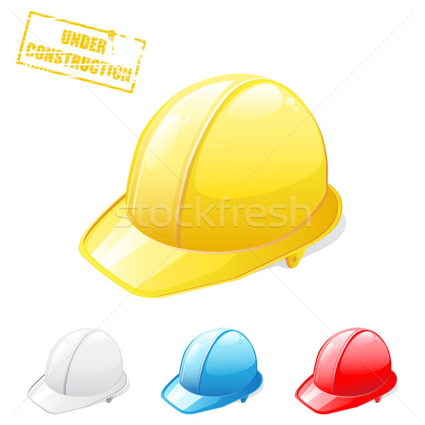 Safety helmets Stock photo © gladcov