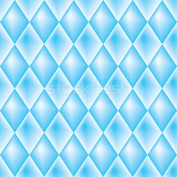 Blue diamond-shaped pattern Stock photo © Glasaigh
