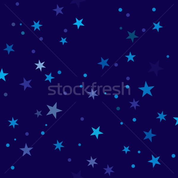 Noite padrão sem costura telha fundo Foto stock © Glasaigh
