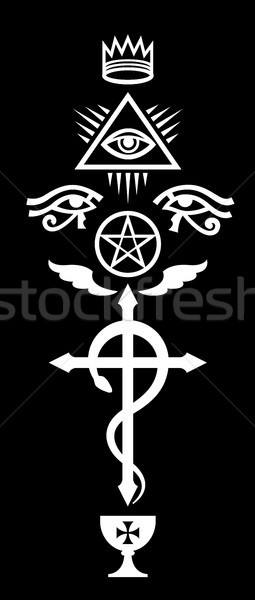 Stock photo: CRUX SERPENTINES (The Serpent Cross)