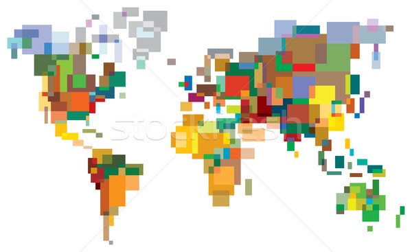 Many-Colored World Stock photo © Glasaigh