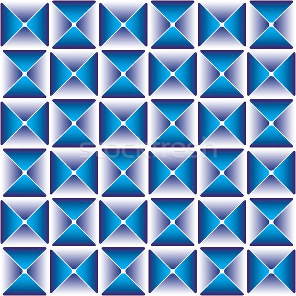 Escuro azul padrão eps8 cor brilhante Foto stock © Glasaigh