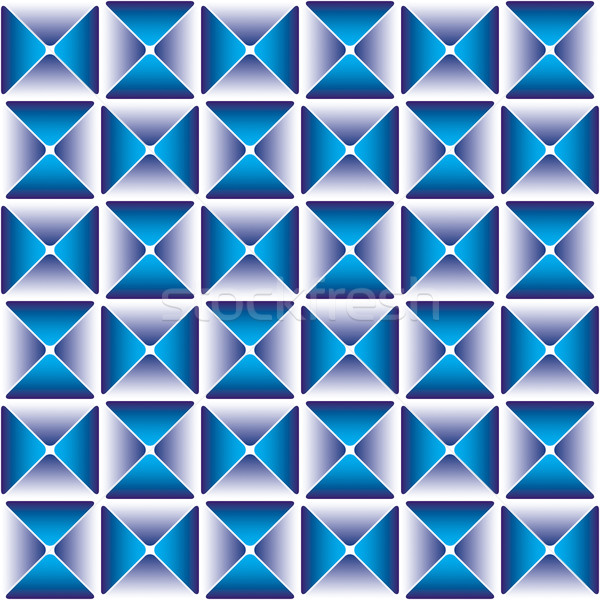 Dark blue drapery pattern EPS-8 Stock photo © Glasaigh