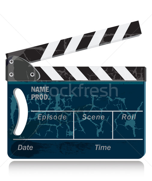 Cor brilhante decorativo filme tempo etapa Foto stock © Glasaigh
