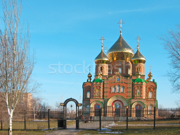 St.Vladimir Cathedral Stock photo © Glasaigh