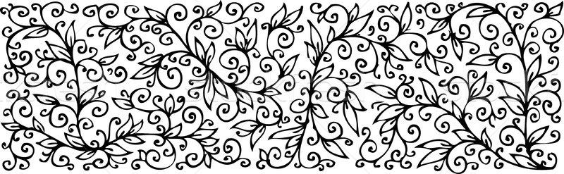 Floral textura decorativo eps8 flor projeto Foto stock © Glasaigh