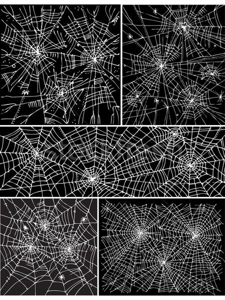 ウェブ パターン セット インターネット 建設 背景 ストックフォト © Glasaigh