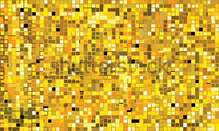 Mosaïc mural golden (seamless pattern) Stock photo © Glasaigh