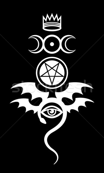 EVIL EYE (The Greater Malefic) Stock photo © Glasaigh