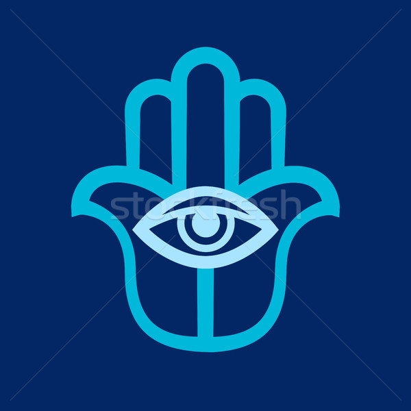 Hamsa (Hand of Fatima) Stock photo © Glasaigh