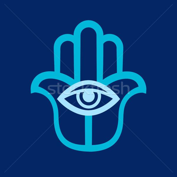 ストックフォト: 手 · 神 · 古代 · 伝統的な · 保護
