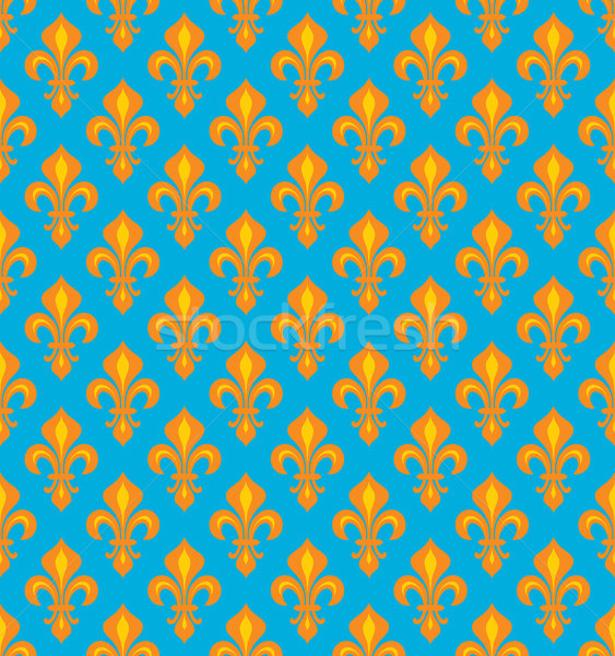 Reale gigli velluto wallpaper Foto d'archivio © Glasaigh