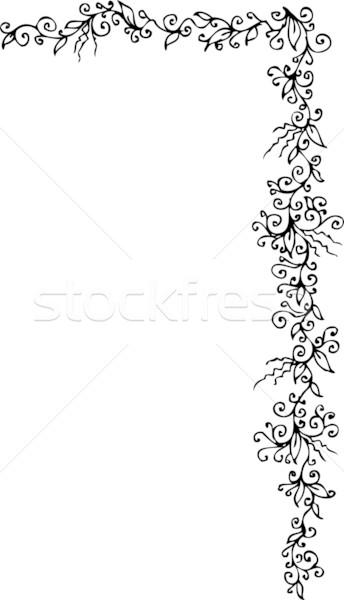 ornament schwarz wei hintergrund muster vektor vektor grafiken glasaigh 1456132. Black Bedroom Furniture Sets. Home Design Ideas