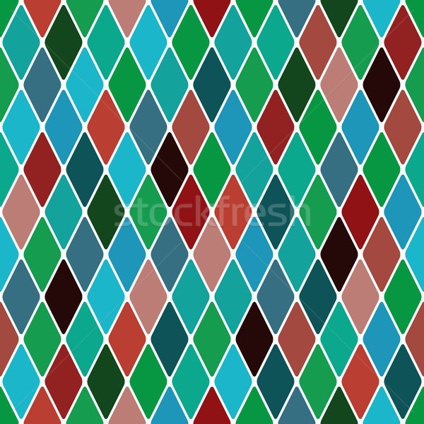 Harlequin 'Mardi Gras' pattern Stock photo © Glasaigh