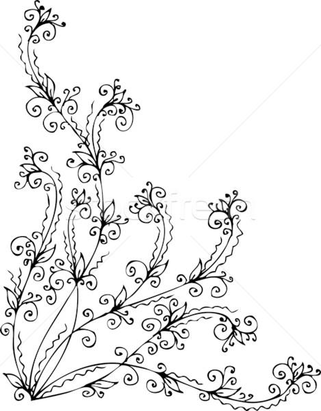 Foto stock: Refinado · decorativo · textura · eps8 · projeto · beleza