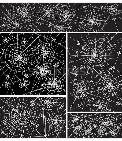 Web background pattern set IV Stock photo © Glasaigh