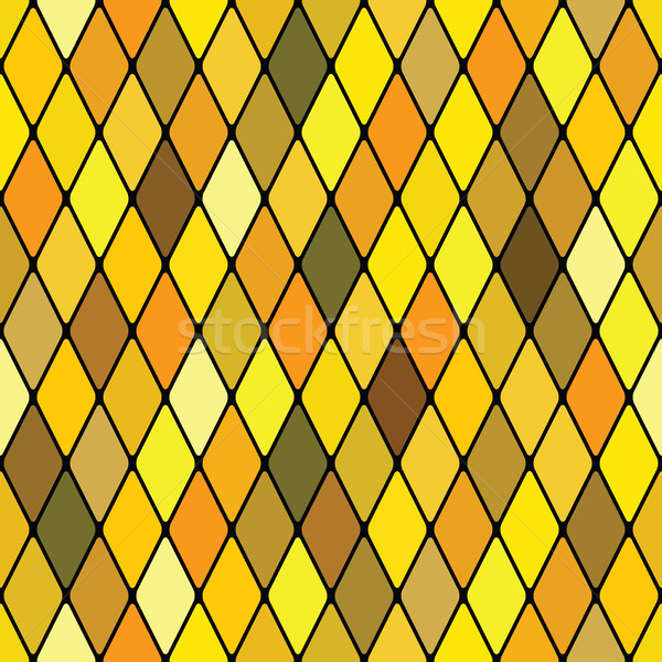 Harlequine golden (seamless pattern) Stock photo © Glasaigh