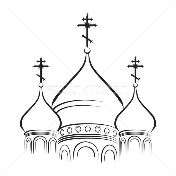 Купола церковные в рисунках