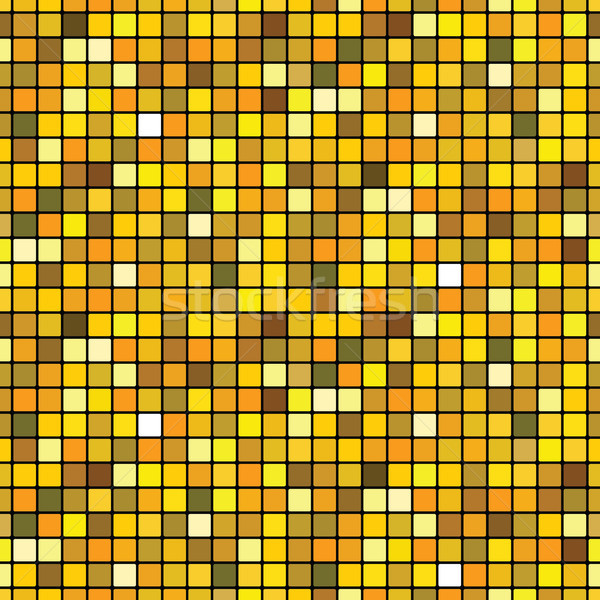 Mosaïc golden (seamless pattern) Stock photo © Glasaigh