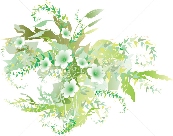 Delicate floral verdure Stock photo © Glasaigh