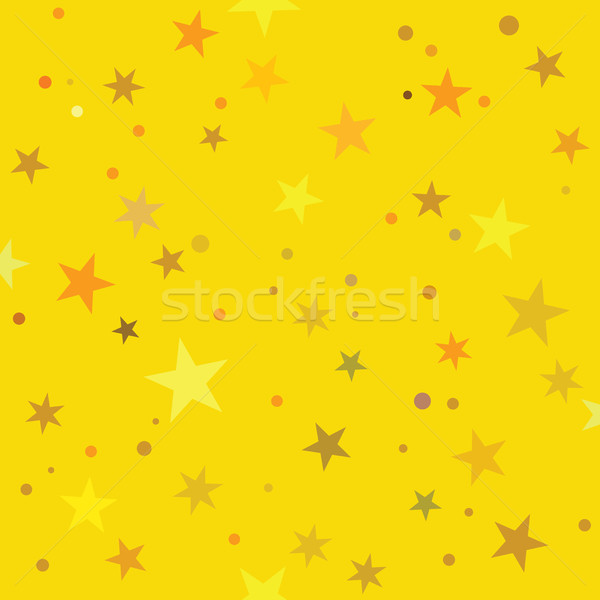 Dourado estrelas padrão sem costura telha papel Foto stock © Glasaigh