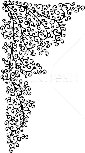 Barock Muster Dekorativ Rahmen Schonheit Kunst Vektor
