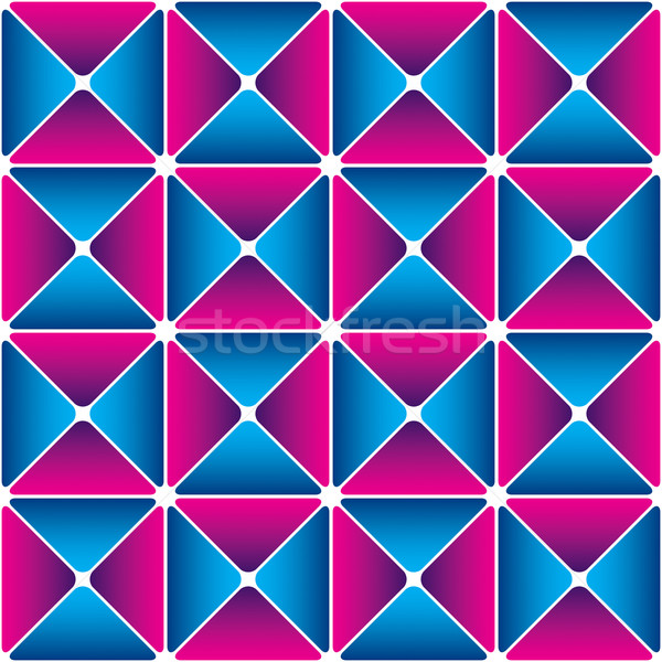 Cyan-magenta drapery pattern Stock photo © Glasaigh