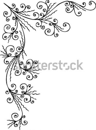 Floreale decorativo texture eps8 design bellezza Foto d'archivio © Glasaigh