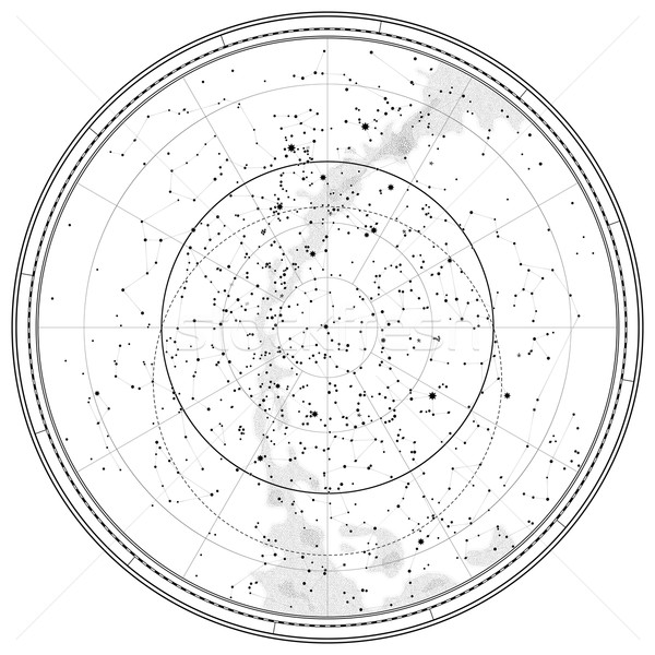Astronomical Celestial Map Stock photo © Glasaigh