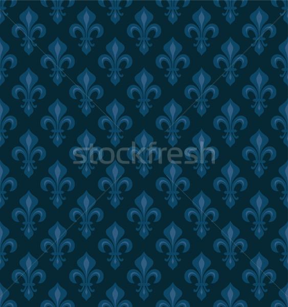 королевский темно синий бархат Сток-фото © Glasaigh