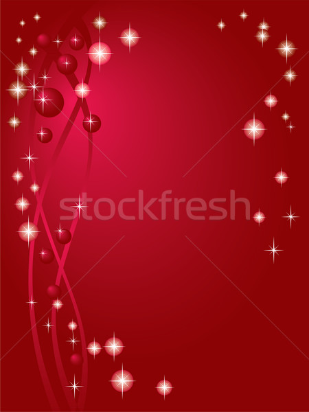 Holiday Red background with stars Stock photo © Glasaigh