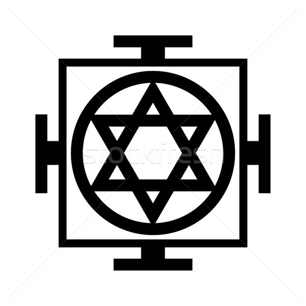 Mandala — the chart of Universe (Oriental Sacral Religious Symbol) Stock photo © Glasaigh