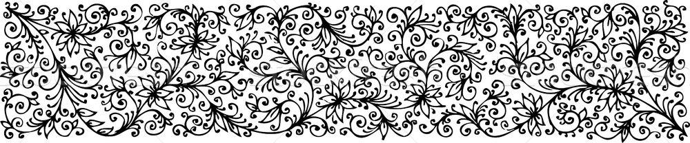 Floral textura refinado beleza retro vintage Foto stock © Glasaigh