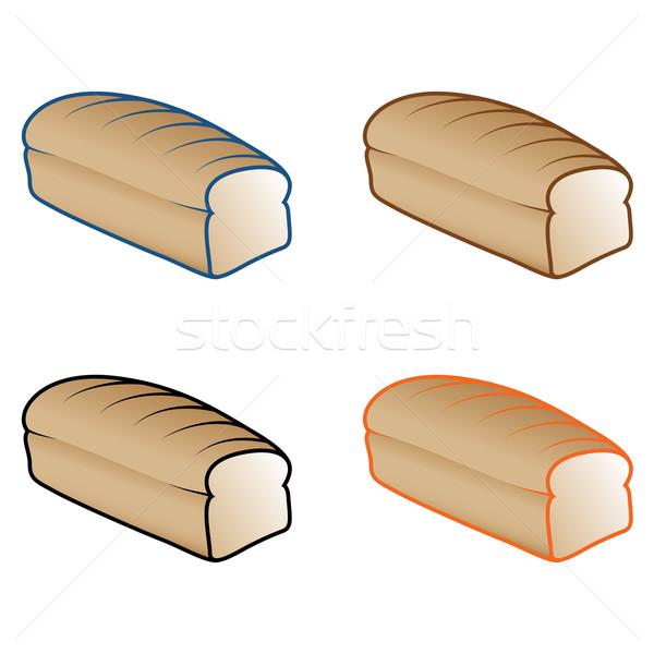 パン ローフ 実例 ホーム 庭園 ストックフォト © gleighly