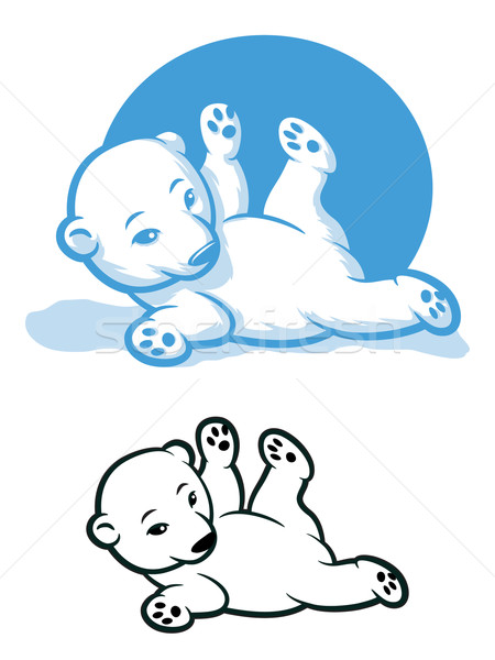 Polar Bear Cub Stock photo © gleighly