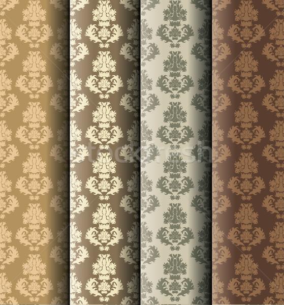 дамаст структур текстуры дизайна искусства ретро Сток-фото © glorcza