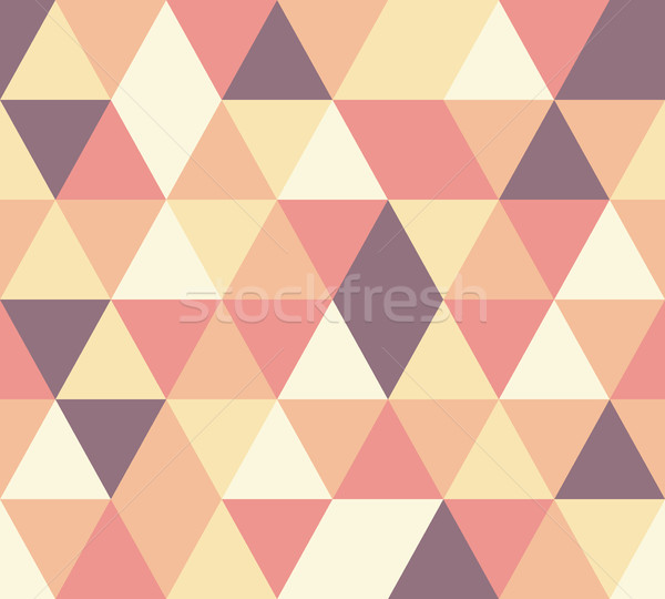 vector triangle seamless pattern Stock photo © glorcza