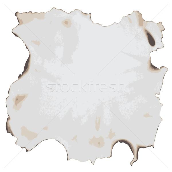 burnt paper Stock photo © glorcza