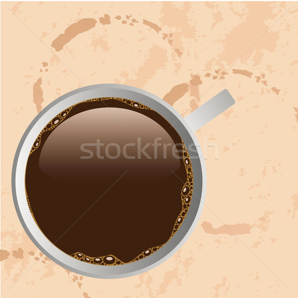 cup of coffee Stock photo © glorcza