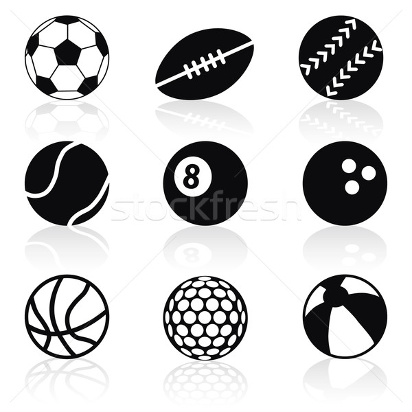 sport balls Stock photo © glorcza