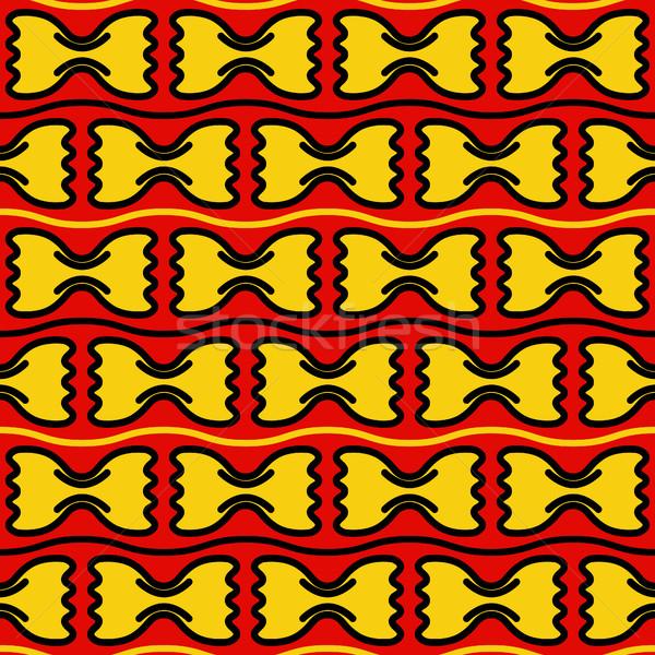 farfalle seamless pattern Stock photo © glorcza