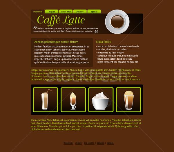Stock photo: web site design