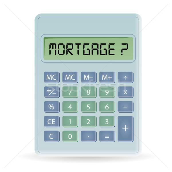 calculator Stock photo © glorcza