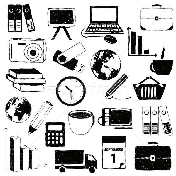 doodle business pictures Stock photo © glorcza
