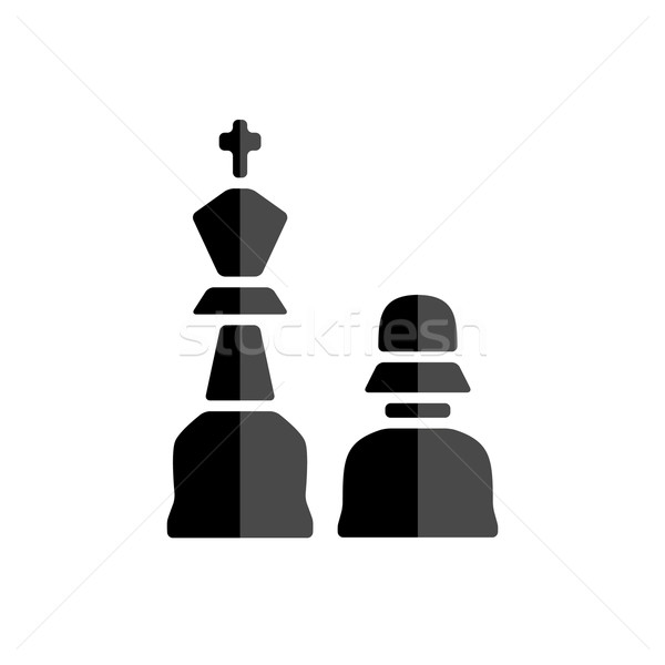 chessman icon Stock photo © glorcza