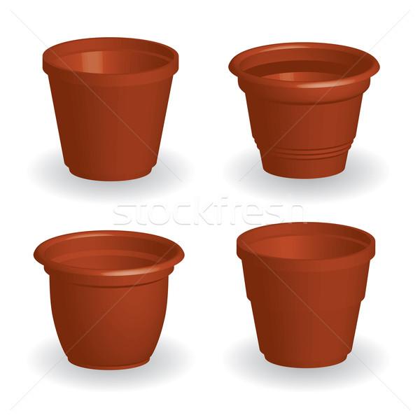 flowerpots Stock photo © glorcza