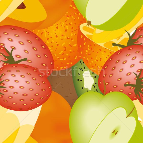fruits pattern Stock photo © glorcza