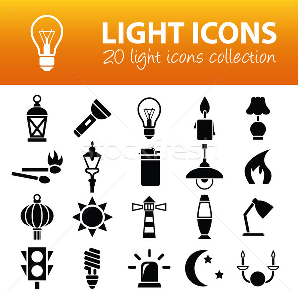 light icons Stock photo © glorcza