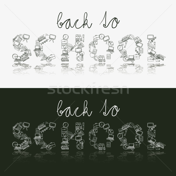 back to school Stock photo © glorcza